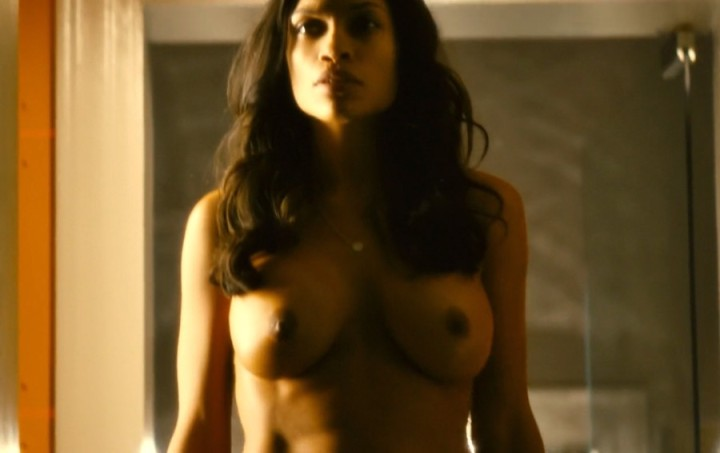 Rosario Dawson full fronta