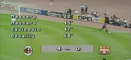 Milan Barcellona 1994